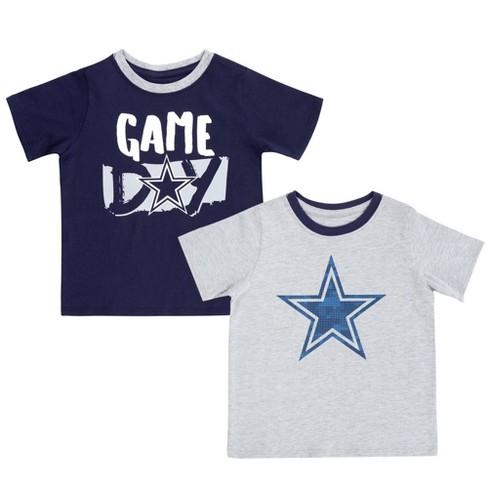 separation shoes 94a8b 335c8 NFL Dallas Cowboys Toddler Boys' Aiden T-Shirt 2pk