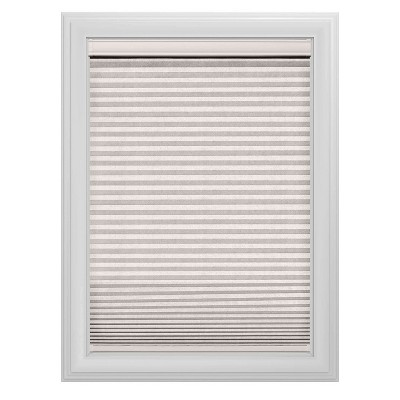 Cordless Blackout Cellular Shade Slotted Window Blind White Dove 35 x64  - Bali Essentials
