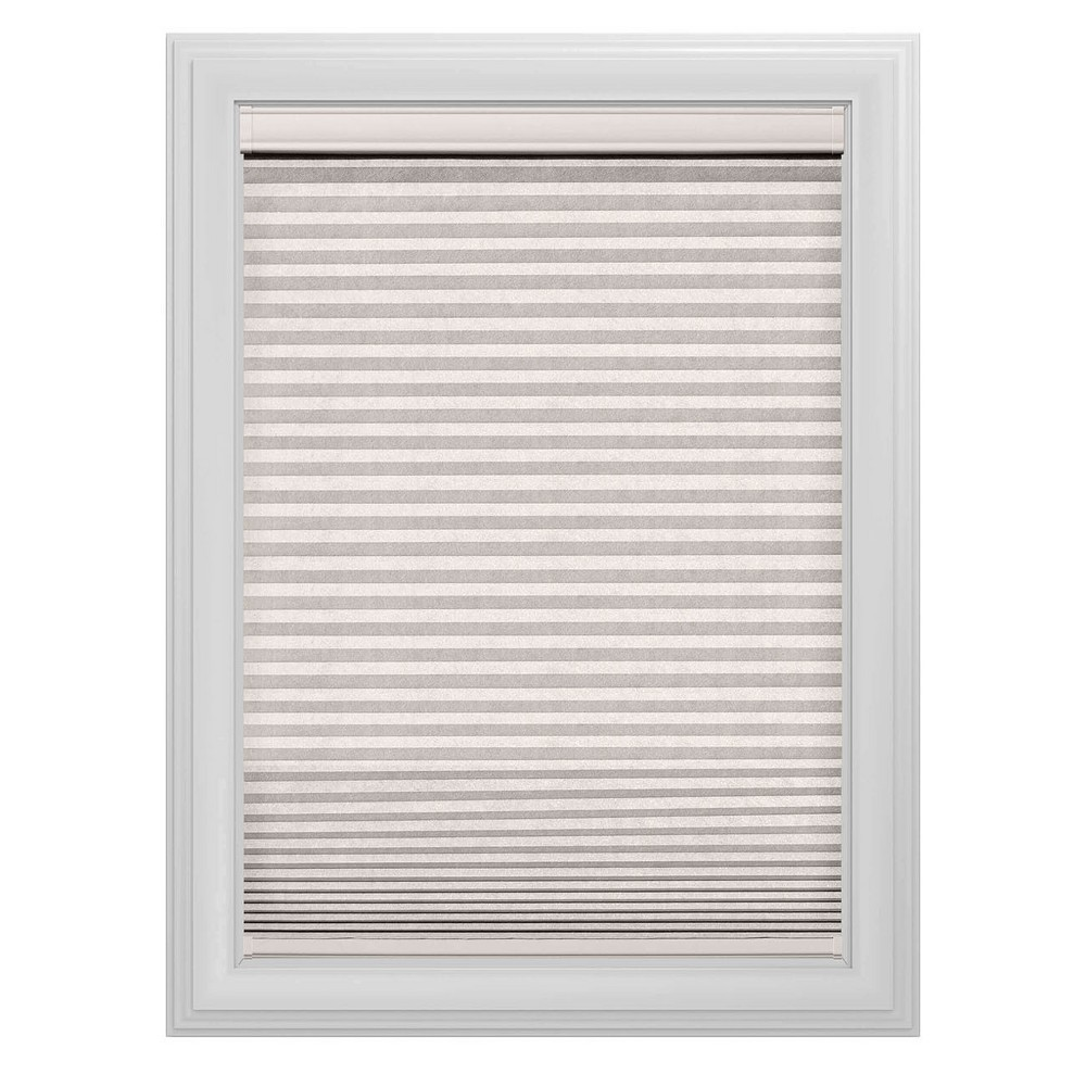 Cordless Blackout Cellular Shade Slotted Window Blind White Dove 71