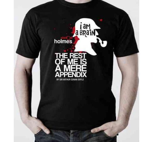 Sherlock Holmes T-shirt, Small (Accessory) - image 1 of 1