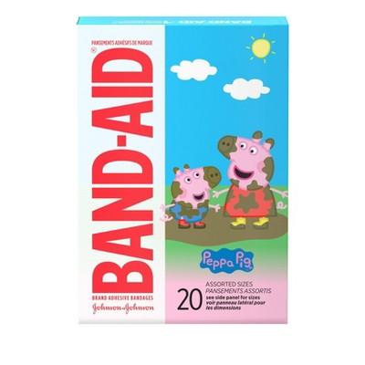 Band-Aid Adhesive Peppa Pig Bandages - 20ct