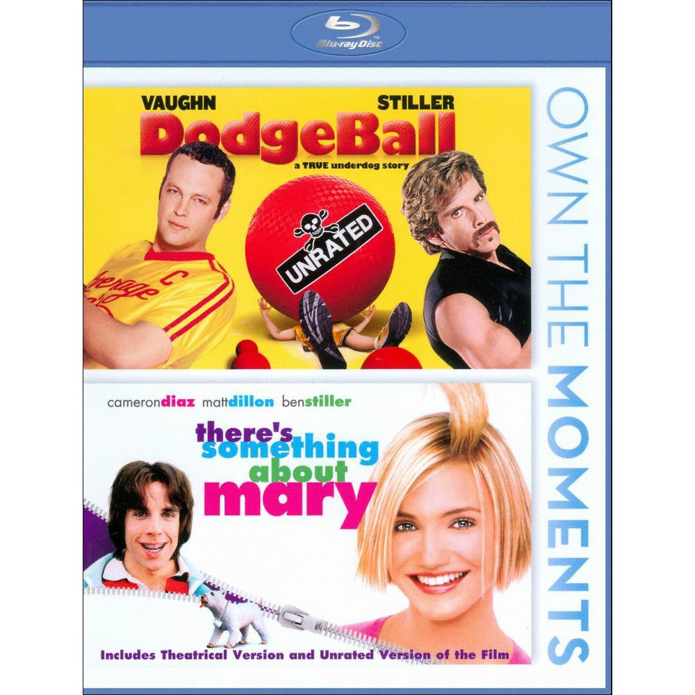 Dodgeball/There's Something About Mary [Blu-ray]