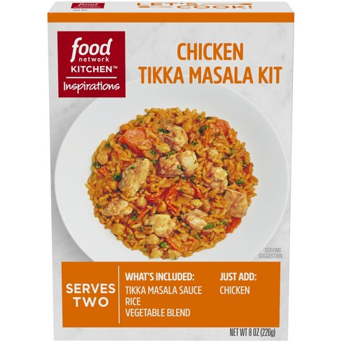 Food Network Chicken Tikka Masala Dinner Kit 8oz Target