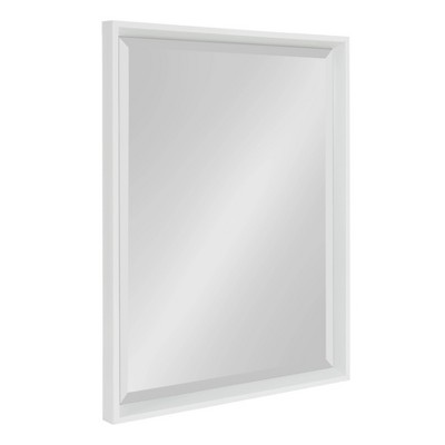 "20"" x 26"" Calter Framed Wall Mirror White - Kate and Laurel"