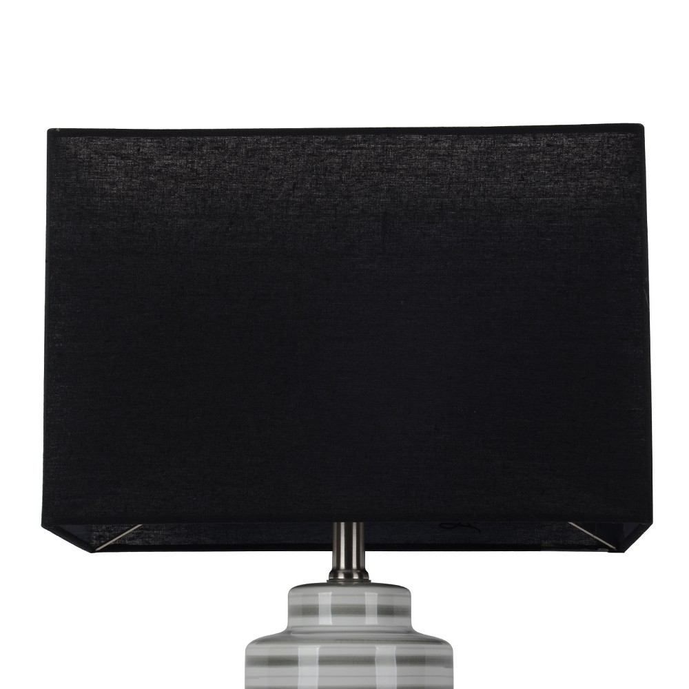 Large Rectangle Lampshade Black - Project 62