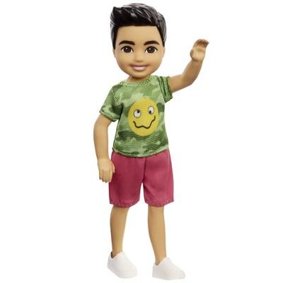 Barbie Chelsea Boy Doll - Camo T-Shirt