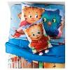 "Daniel Tiger's Neighborhood Red & Brown Pillow Buddy (20"" X 14"") - image 2 of 2"