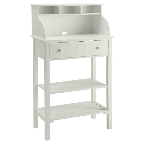 Office/ Kitchen Storage Desk - White - Convenience Concepts - image 1 of 5