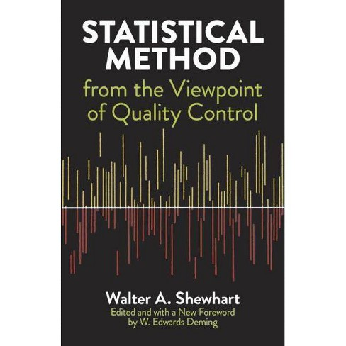 Statistical Method from the Viewpoint of Quality Control - (Dover Books on Mathematics) by  Walter a Shewhart & Mathematics & W Edwards Deming - image 1 of 1