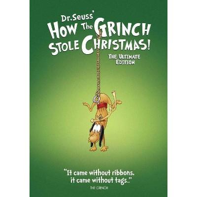 Dr. Seuss' How The Grinch Stole Christmas! (DVD)(2020)