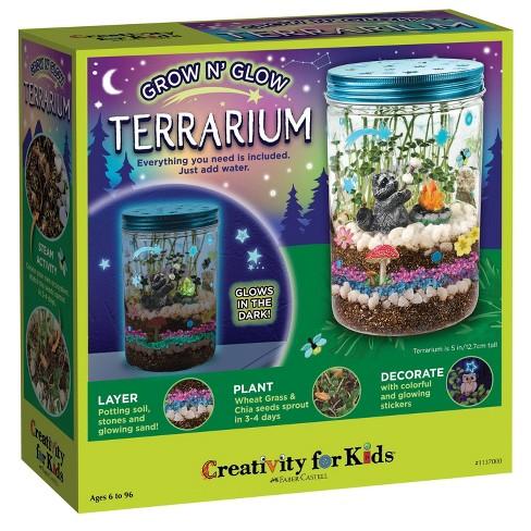 Creativity for Kids Grow N' Glow Terrarium - image 1 of 4