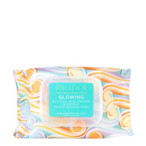 Pacifica Glowing Makeup Removing Wipes - 30ct - image 1 of 3