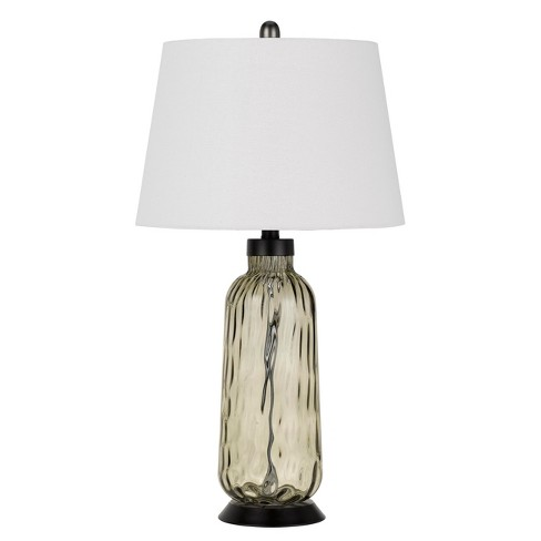 150W 3 Way Bolsena Glass Table Lamp (Priced And Sold In Pairs)  - Cal Lighting - image 1 of 2