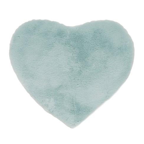 "26""x30"" Candy Heart Shaped Bath Mat - freshmint kids - image 1 of 4"
