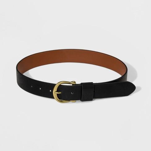 Women's Loop Belt - Universal Thread™ Black - image 1 of 2