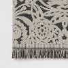 Allover Pattern Towels Black/White - Opalhouse™ - image 3 of 4