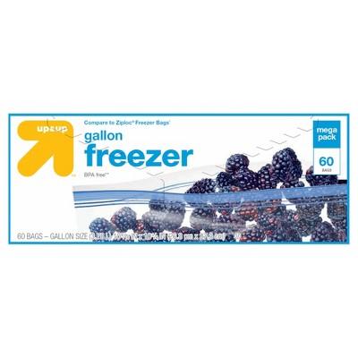 Gallon Freezer Bags 60ct - Up&Up™
