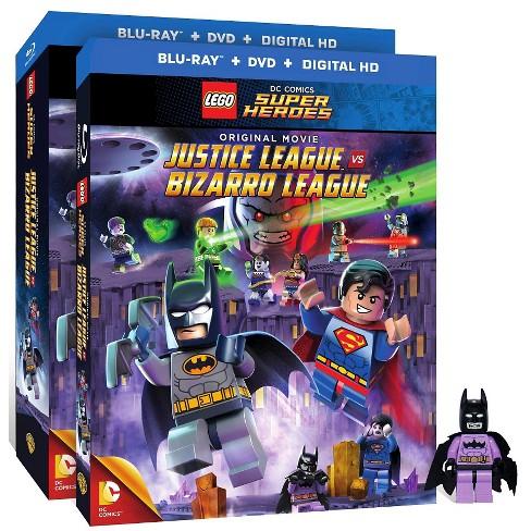 LEGO DC Comics Super Heroes: Justice League vs. Bizarro League (Blu-ray/DVD) (Figure) - image 1 of 1