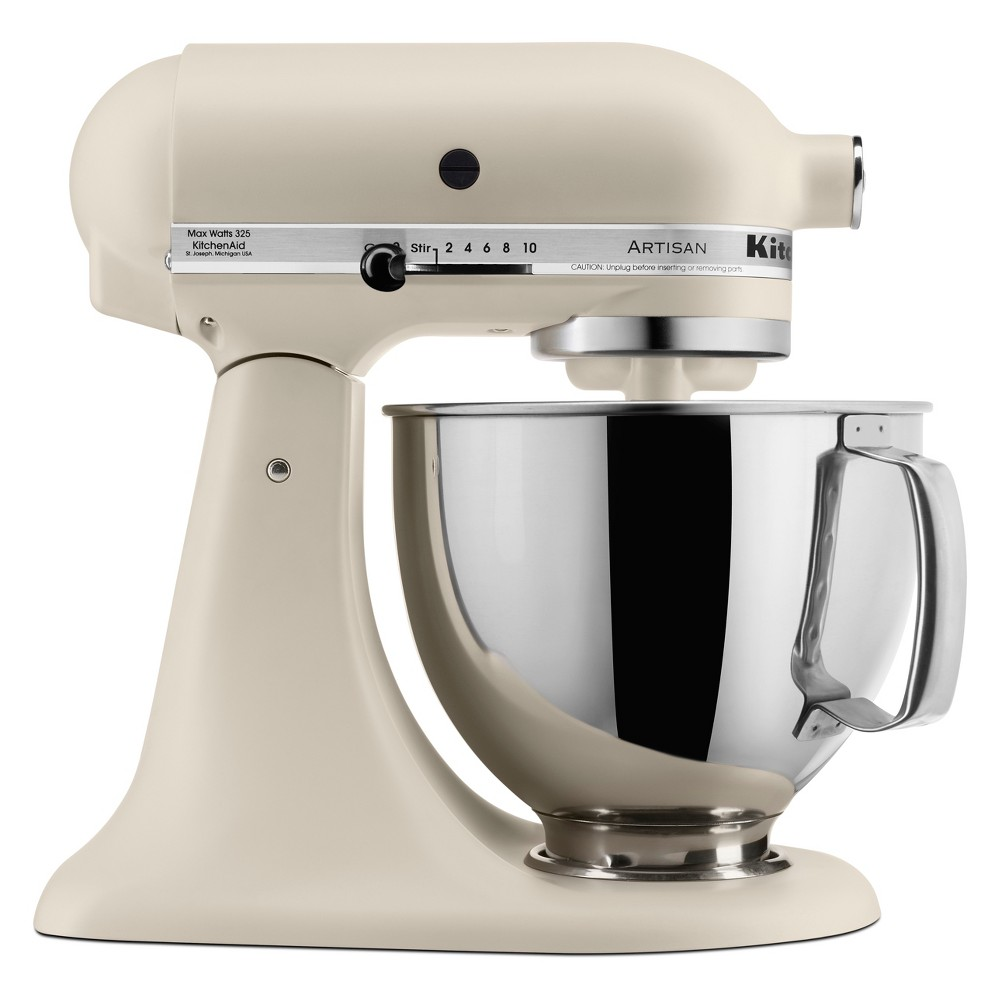 KitchenAid 5qt Artisan Series Tilt-Head Stand Mixer Matte Fresh Linen – KSM150PSFL 53807822