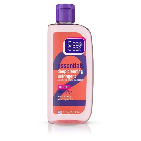 Clean & Clear Essentials Oil-Free Deep Cleaning Astringent - 8 fl oz - image 1 of 4
