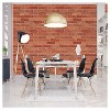 Devine Color Textured Brick Peel & Stick Wallpaper Red - image 2 of 4