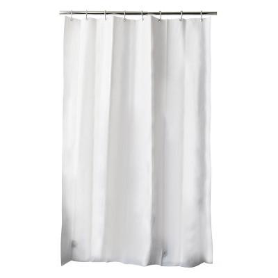 6 Gauge Medium Weight Shower Liner White - Threshold™