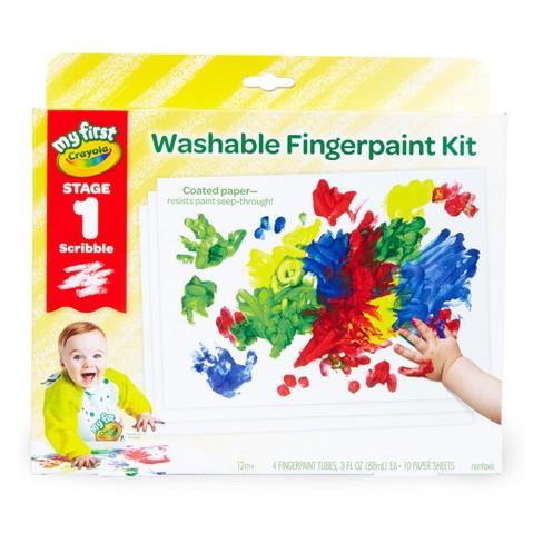 crayola fingerpaint kit stage 1 target