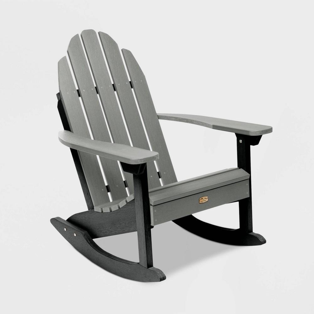 Mountain Bluff Essential Patio Adirondack Chair - Gray - Elk Outdoors