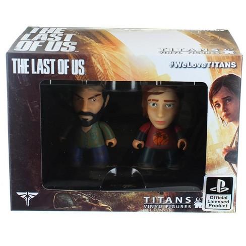 """The Last of Us 3"""" Joel & Ellie Vinyl Figures - image 1 of 1"""
