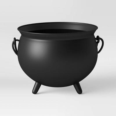 "11"" x 16.5"" Iron Cauldron Black - Threshold™"
