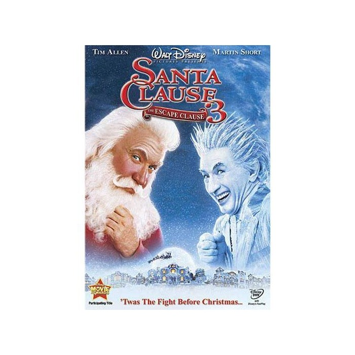 The Santa Clause 3: The Escape Clause (DVD) : Target