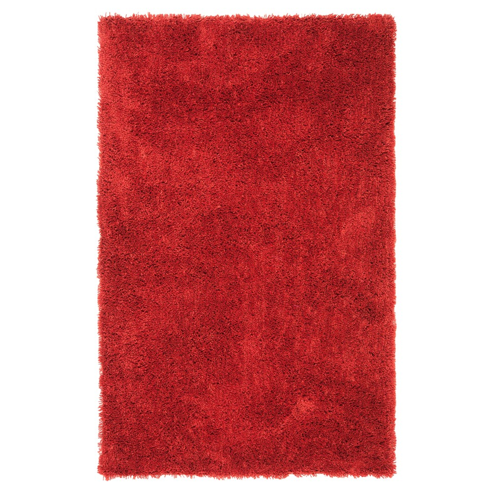 Rust (Red) Solid Tufted Area Rug - (6'x9') - Safavieh