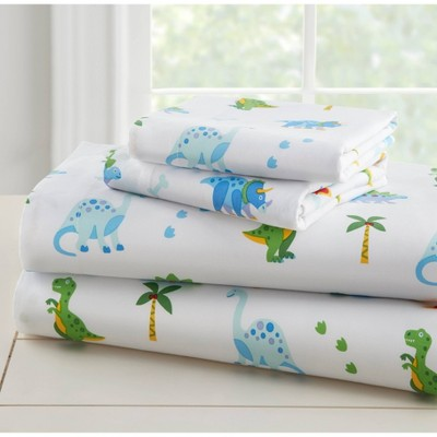Twin Dinosaur Land 100% Cotton Sheet Set - WildKin