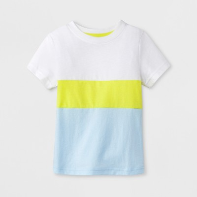 Toddler Boys' Short Sleeve T-Shirt - Cat & Jack™ Aqua 3T