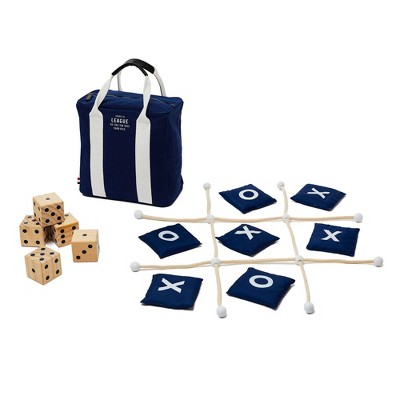 West Emory Yard Dice and Tic Tac Toe Combo Set