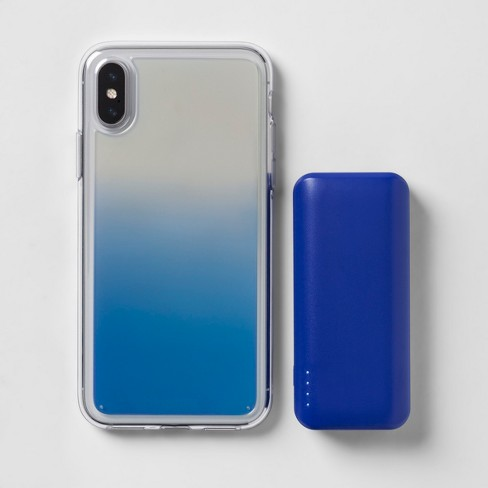 separation shoes 49da1 3eb1b heyday™ Apple iPhone X/XS Case with Power Bank - Cool Iridescent
