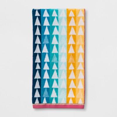 Triangles Bath Towel - Pillowfort™