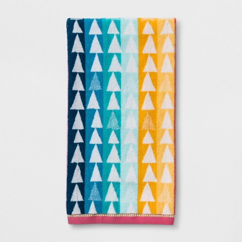 Triangles Bath Towel - Pillowfort™ - image 1 of 1