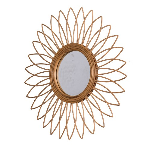 Organic Elements Mirror Natural - A&B Home - image 1 of 1