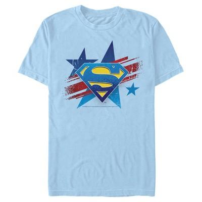 Men's Superman Logo Patriotic T-Shirt