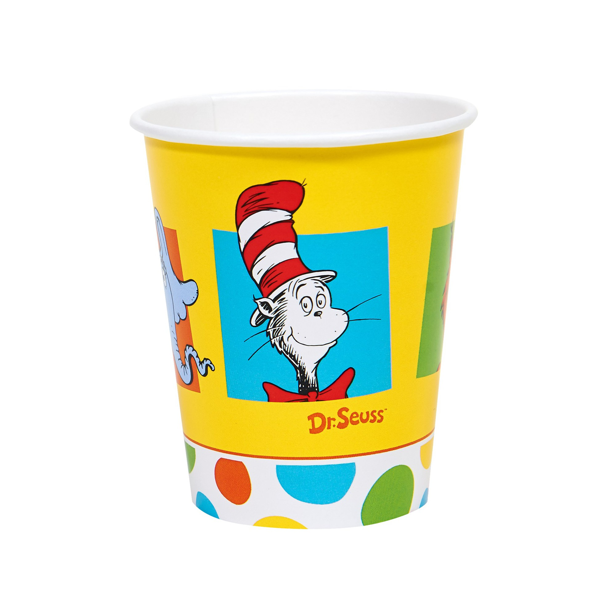 Dr. Seuss 8ct 9oz Favorites Cup