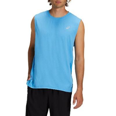 ASICS Men's Sleeveless Heather Tech Top Running Apparel 2011A614