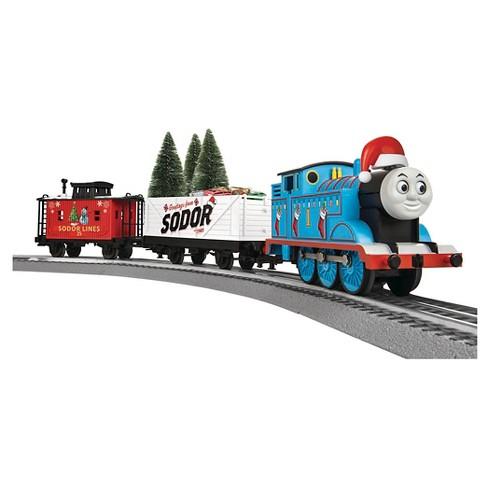 Thomas The Train Christmas.Lionel Thomas The Tank Christmas Freight Ready To Run Train Set
