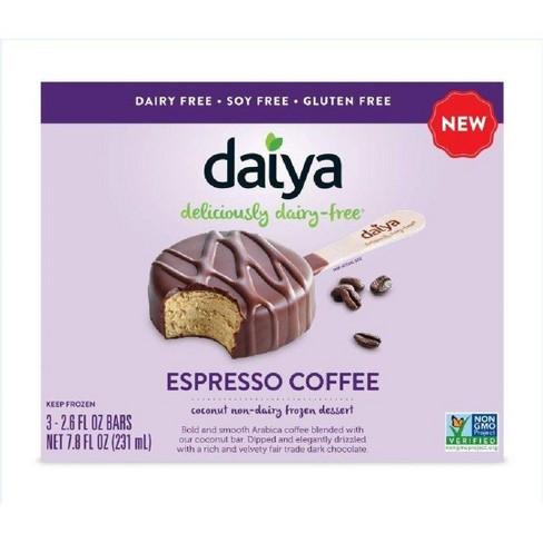 Daiya Espresso Coffee Non-Dairy Frozen Dessert Bars - 3ct/7.8oz - image 1 of 3
