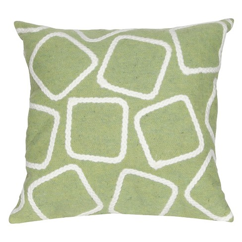 Squares Throw Indoor/Outdoor Throw Pillow - Liora Manne - image 1 of 1