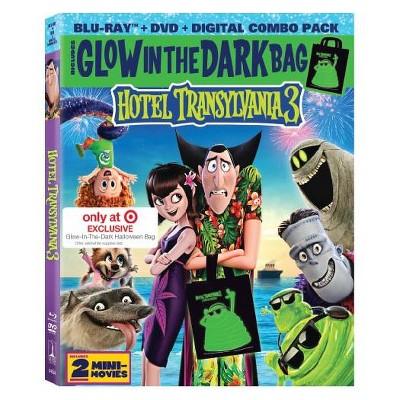Hotel Transylvania 3 Glow In The Dark Bag GWP (Blu-Ray + DVD + Digital)