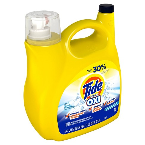 Tide Simply + Oxi Refreshing Breeze Liquid Laundry Detergent - 150 fl oz - image 1 of 3