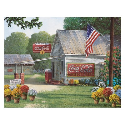 Springbok Coca-Cola Country General Store Puzzle 500pc
