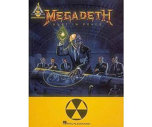 Megadeth : Rust in Peace (Paperback) - image 1 of 1