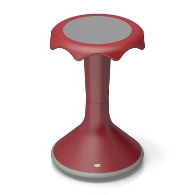 "VS America Hokki Stool Flexible Ergonomic Seating - 20"" Red"
